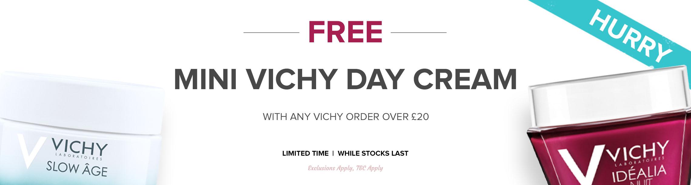 Free Mini Vichy Day Cream