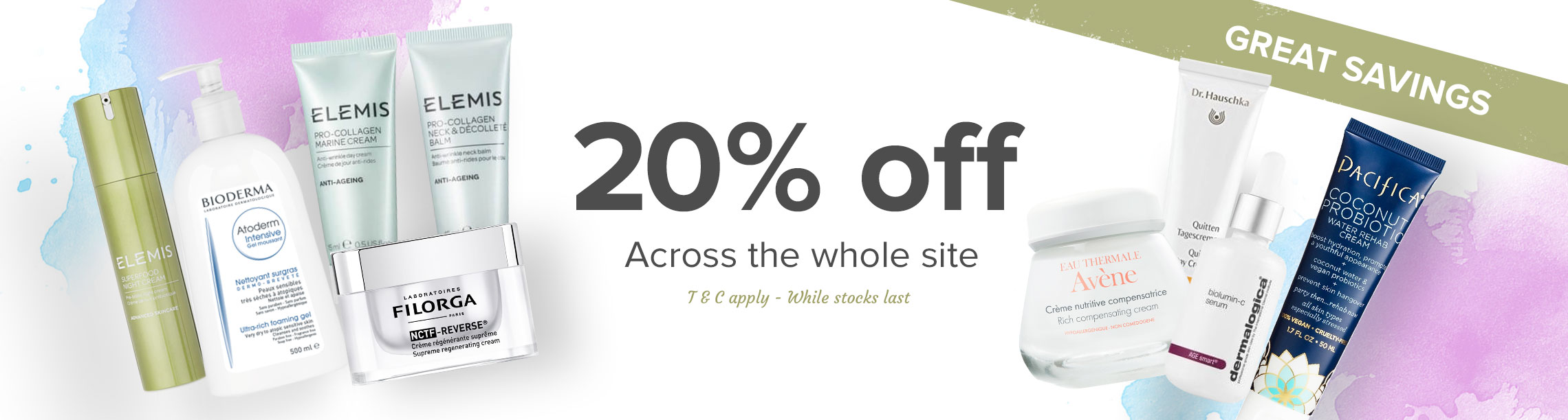 20% off the whole site