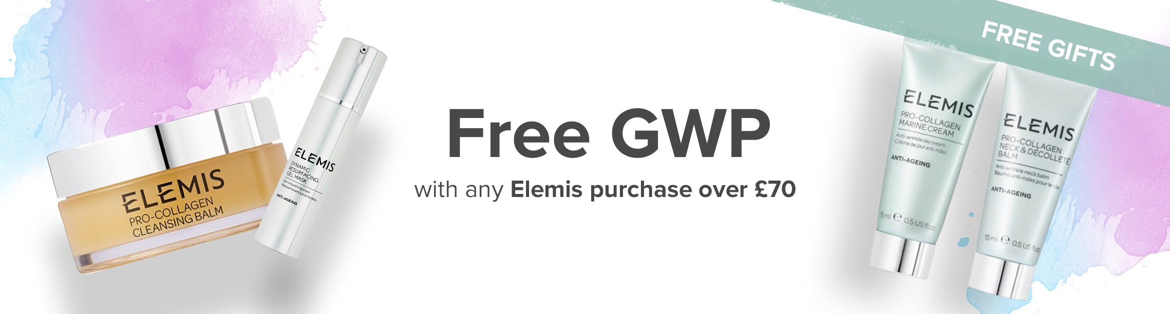 Free Elemis gift with Purchase