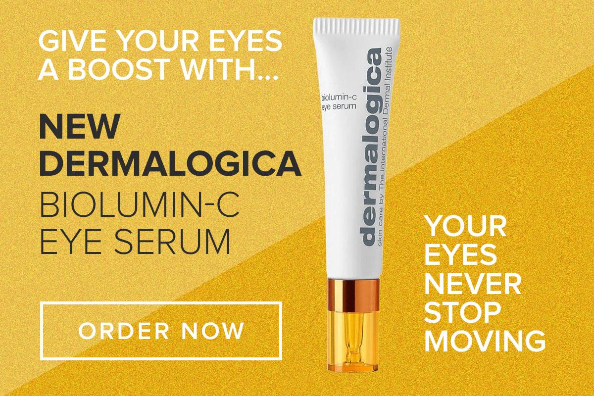 Dermalogica new Biolumin-c eye serum
